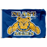 North Carolina AT Aggies Sport Flag