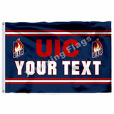 Illinois Chicago Flames Sport Flag
