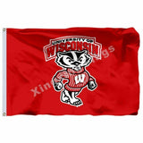 Wisconsin Badgers Sport Flag
