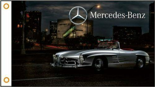 MERCEDES BENZ AMG Custom Flag