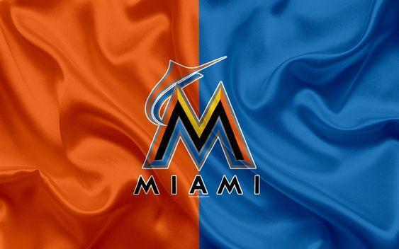 Miami Marlins Custom Sport Flag