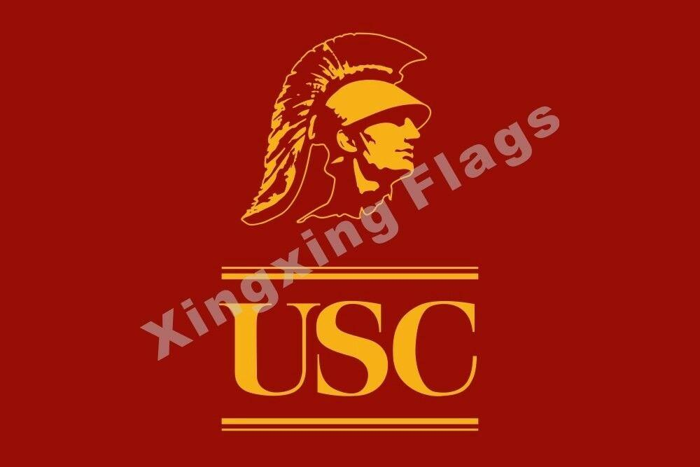 Southern California Trojans Lions Sport Flag