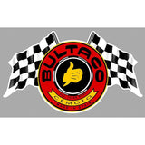 Bultaco Motorcycles Custom Flag