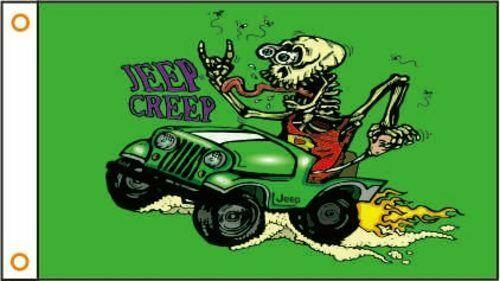 RAT FINK Custom Flag