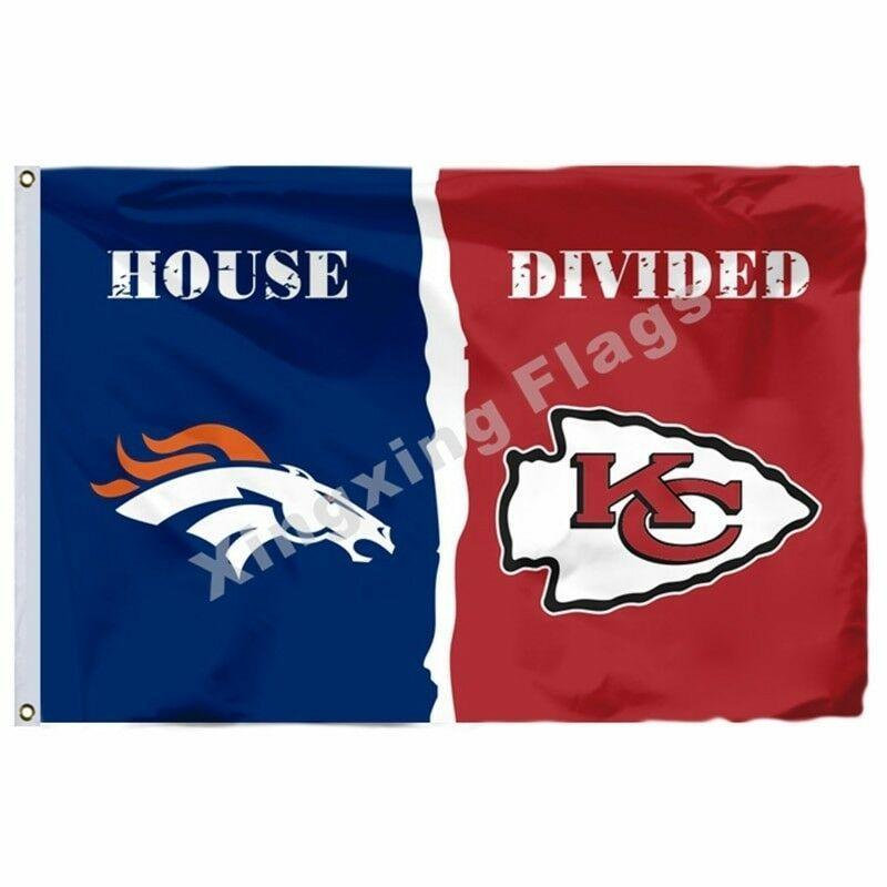 Kansas City Chiefs Custom Sport Flag