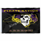 East Carolina Pirates Sport Flag