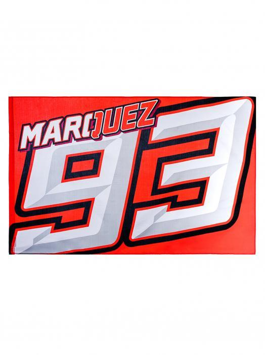 Marc Marquez 93 MotoGP Motorcycles Custom Flag