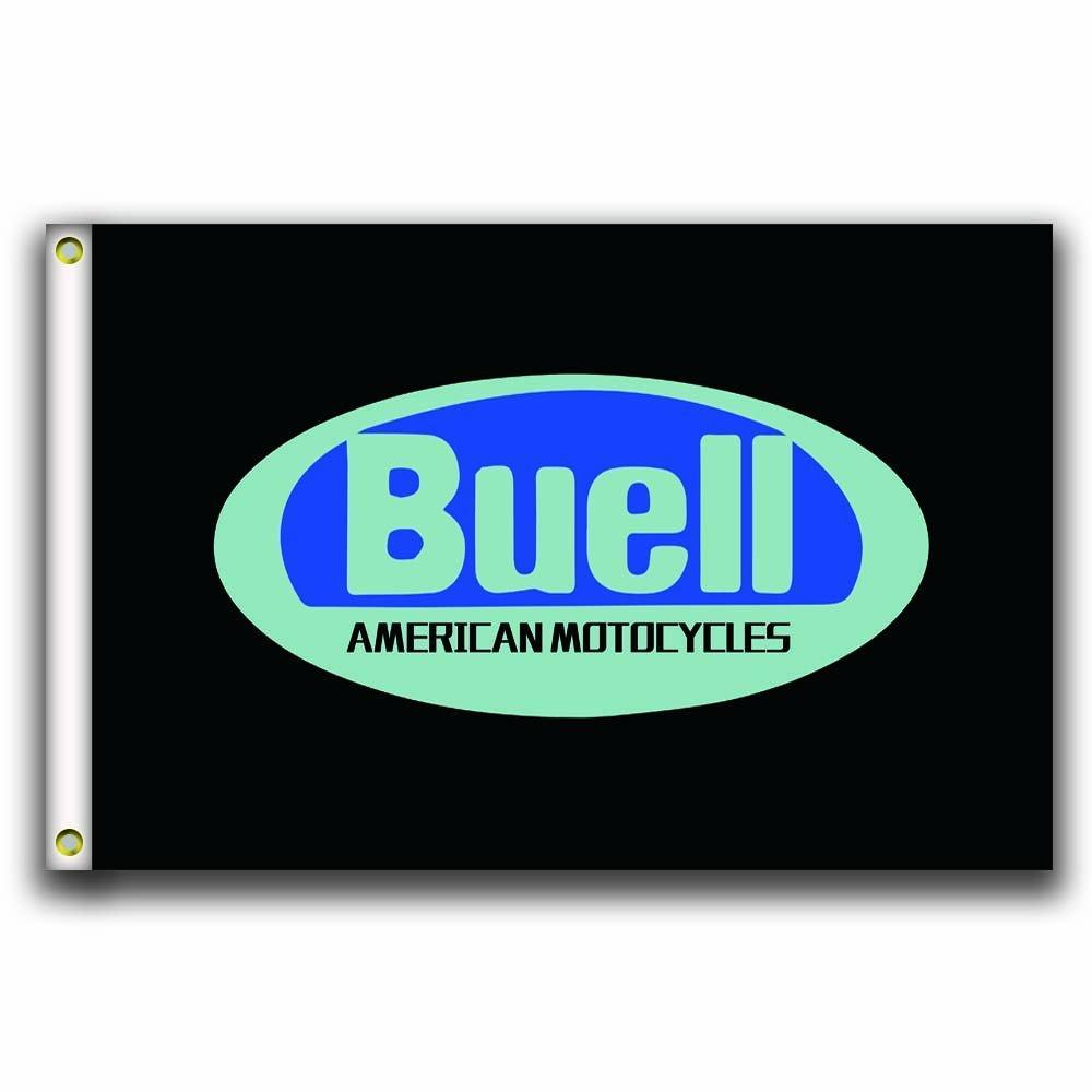 Buell Motorcycles Racing Custom Flag