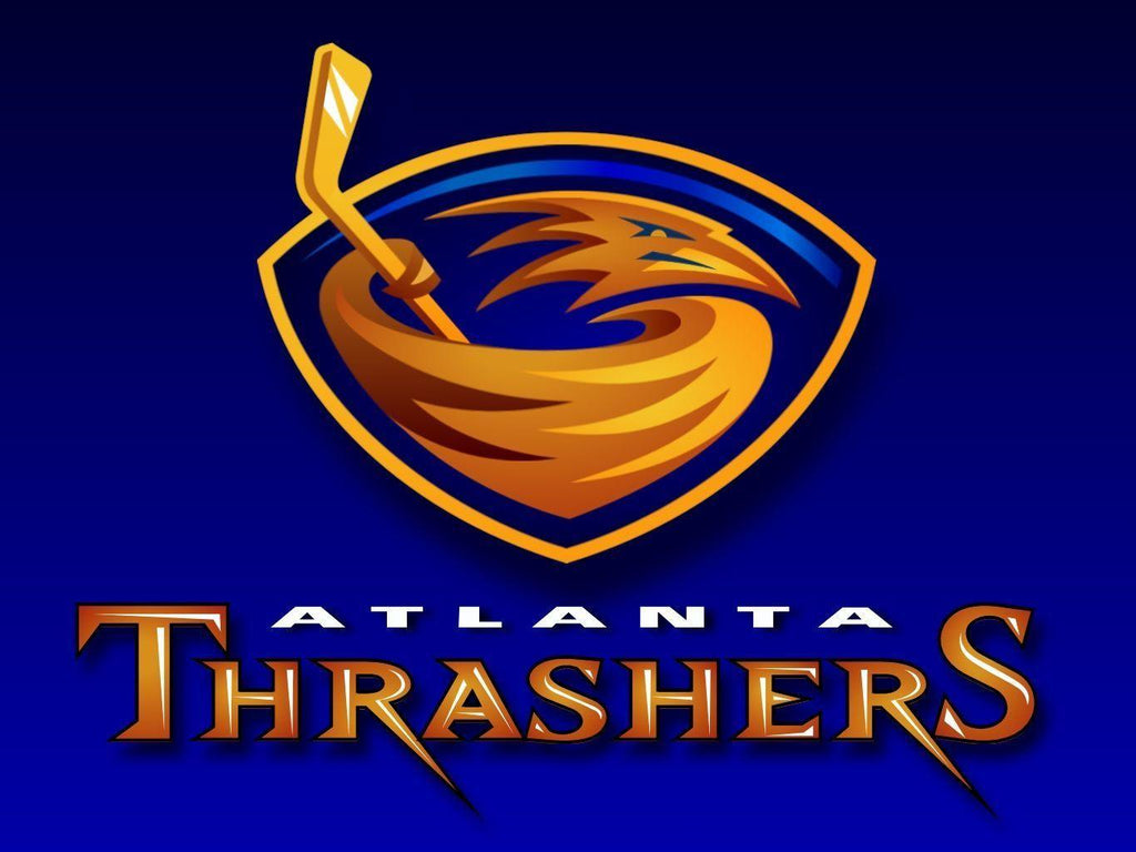Atlanta Thrashers Custom Sport Flag