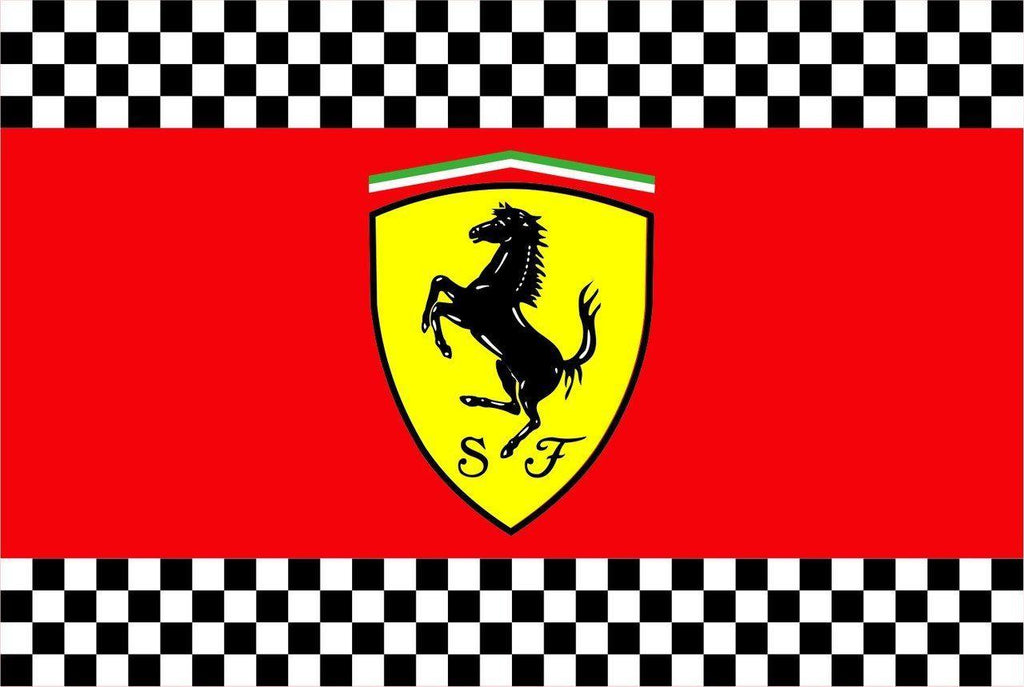 FERRARI Custom Flag