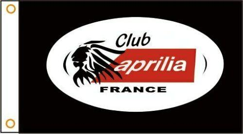 Aprilia Motorcycles Custom Flag