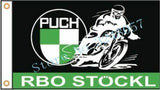 PUCH Motorcycles Custom Flag