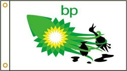 BP GAS OIL Custom Flag
