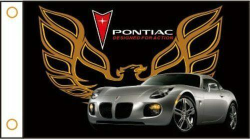 PONTIAC Custom Flag