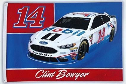 Clint Bowyer Custom Sport Flag