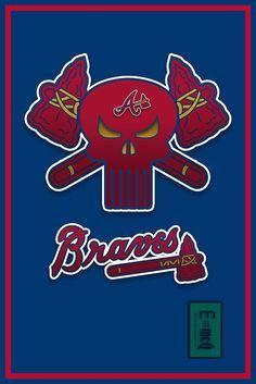 Atlanta Braves Custom Sport Flag