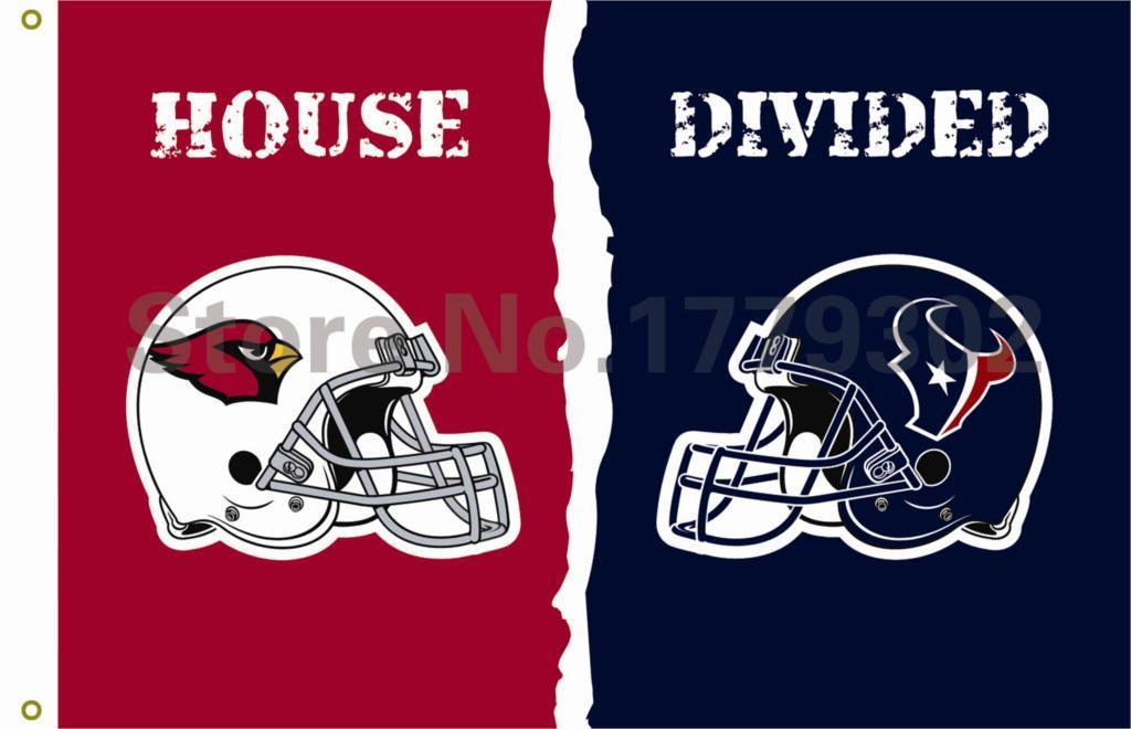 Arizona Cardinals Houston Texans Flag