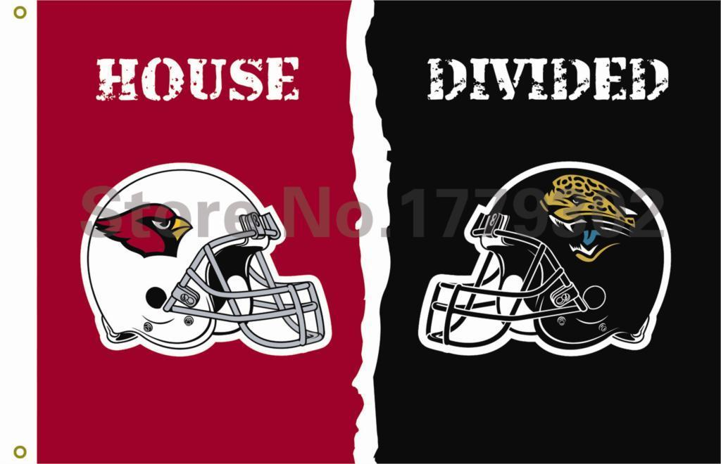 Arizona Cardinals Jacksonville Jaguars Flag