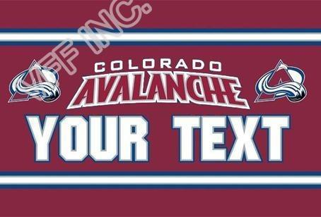 Colorado Avalanche Custom Sport Flag