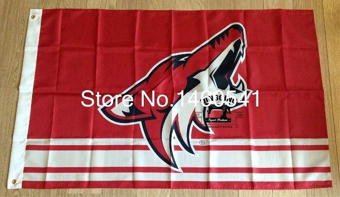 Arizona Coyotes Custom Sport Flag