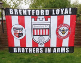 Brentford Custom Sport Flag