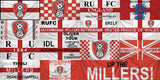 Rotherham United Custom Sport Flag