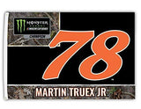 Martin Truex Jr Custom Sport Flag