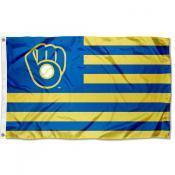 Milwaukee Brewers Custom Sport Flag