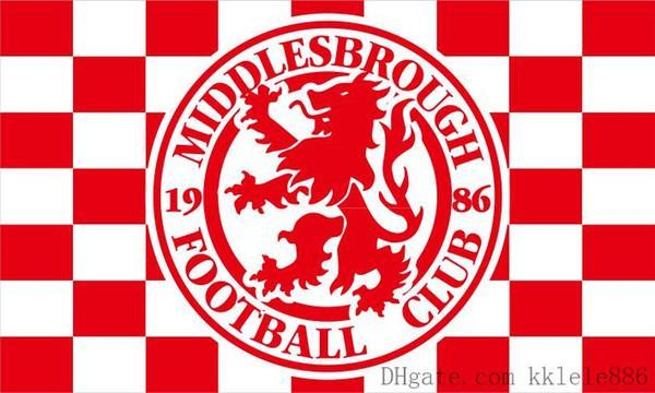 Middlesbrough Custom Sport Flag