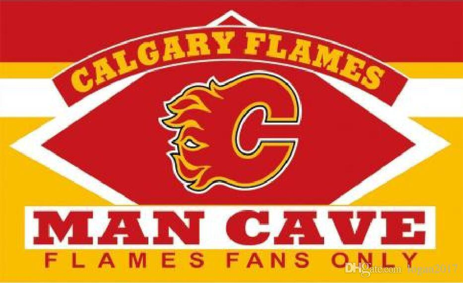 Calgary Flames Custom Sport Flag