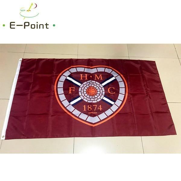 Heart of Midlothian Custom Sport Flag