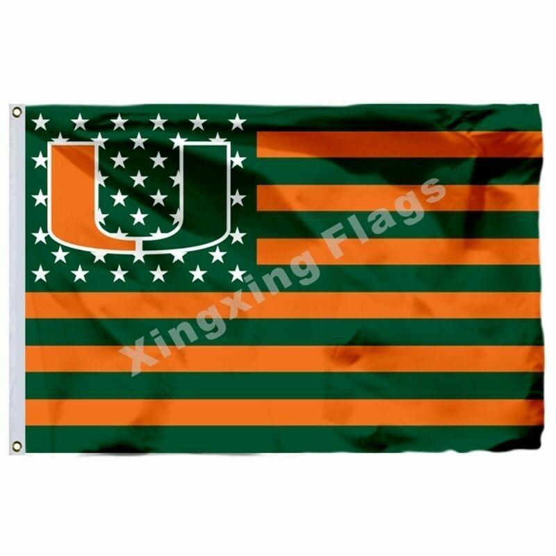 Miami Hurricanes Sport Flag