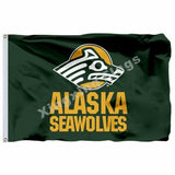 Alaska Anchorage Seawolves Sport Flag