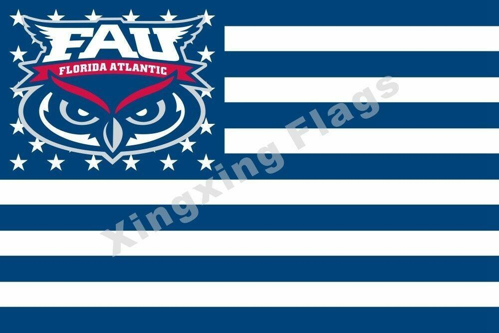 Florida Atlantic Owls Sport Flag