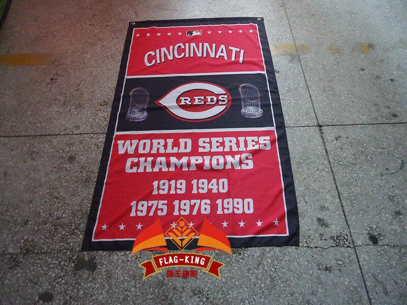 Cincinnati Reds Custom Sport Flag