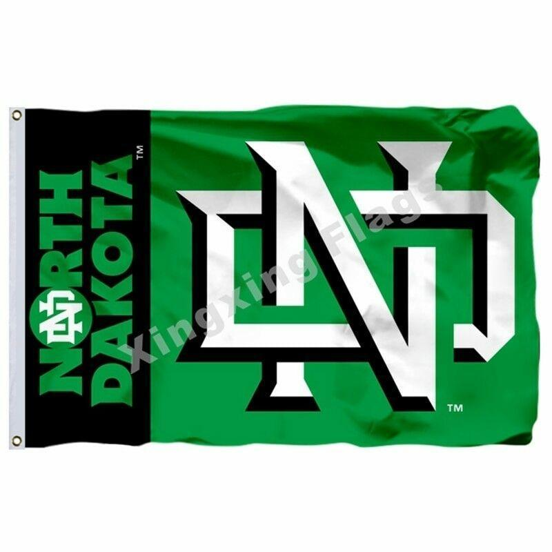 North Dakota Fighting Sioux Sport Flag