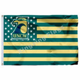 North Carolina Wilmington Seahawks Sport Flag