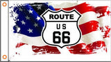 ROUTE US 66 Custom Flag