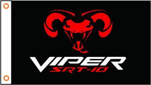 DODGE VIPER Custom Flag