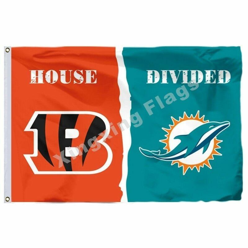 Miami Dolphins Custom Sport Flag