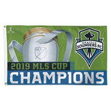 SEATTLE SOUNDERS FC MLS Sport Flag