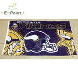 Minnesota Vikings Custom Sport Flag