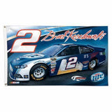 Brad Keselowski Custom NASCAR Sport Flag For Sale