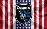 SAN JOSE EARTH QUAKES MLS Sport Flag
