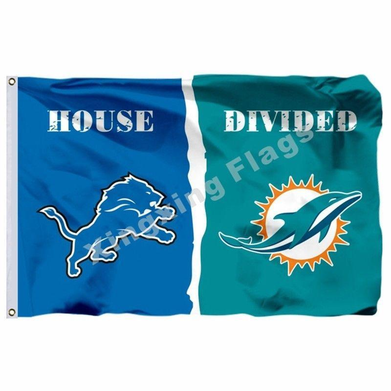 Detroit Lions Custom Sport Flag