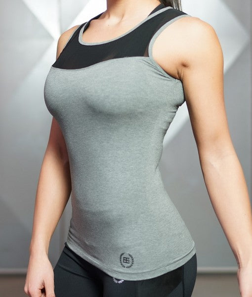 EOS Tank Top Anthracite