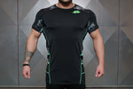 Renzo Performance Shirt – Black & ACID GREEN