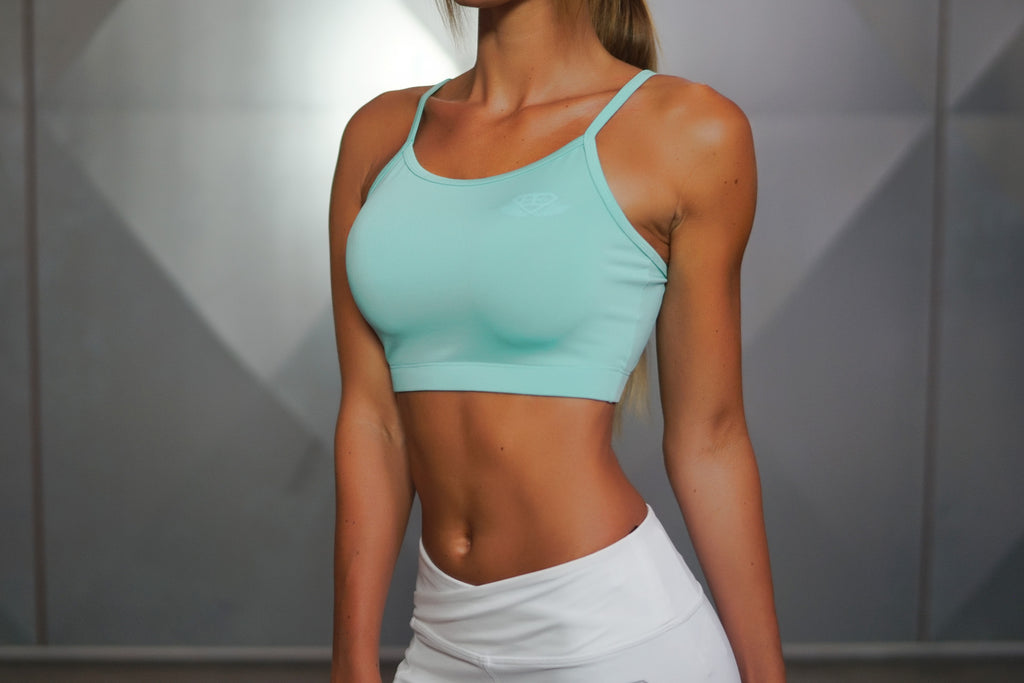Athena Comfort Crop Top Mint