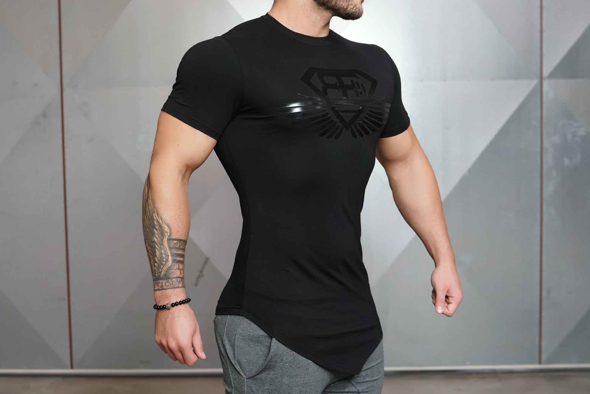 Engineered-Life Prometheus T-Shirt 3.0 Black on Black