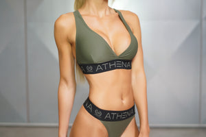 Heka Bra Army Green